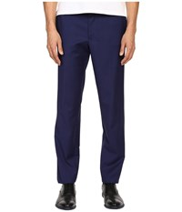 The Kooples Fil A Fil Pants Blue Men's Casual Pants