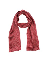 Niu' Accessories Oblong Scarves Women Brick Red