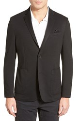 Men's Vince Camuto Slim Fit Stretch Knit Blazer Black