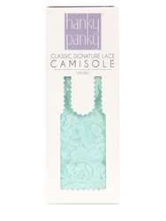 Hanky Panky Lace Camisole Tank Top Green