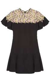 Giambattista Valli Lace Top Dress Black