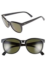 Electric Eyewear Women's Electric 'Bengal' 54Mm Polarized Sunglasses Gloss Black Grey Polar