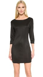 Wgaca Alaia Jersey Dress Previously Owned Black