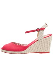 Pepe Jeans Shark Fun Wedge Sandals Red Hot