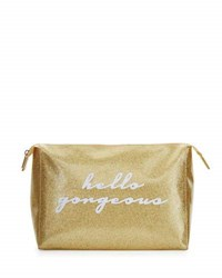Lolo Bags Betty Large Cosmetics Bag Gold Glitter