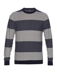 Dunhill Herringbone Knit Cotton Sweater