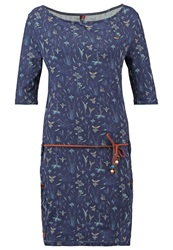 Ragwear Tanya Jersey Dress Navy Dark Blue