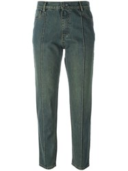 Each X Other Washed Straight Leg Jeans Blue