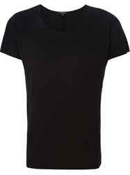 Unconditional Scoop Neck T Shirt Black