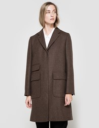 Margaret Howell Short City Coat Bracken