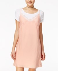 American Rag Cami T Shirt Dress Only At Macy's Coral