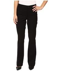 Nydj Petite Michelle Ponte Trousers Black Women's Dress Pants