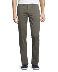 J Brand Jeans Brooks Slim Fit Chino Trousers Light Army
