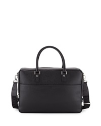 Salvatore Ferragamo Revival Single Gusset Briefcase Black