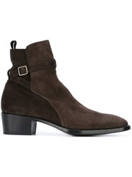 Raparo 'Tronchetto' Boots Brown