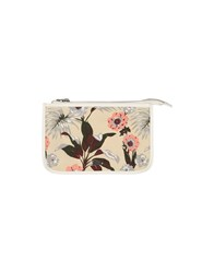 Maison Scotch Small Leather Goods Pouches Women Beige