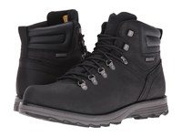 Caterpillar Sire Waterproof Black Men's Work Lace Up Boots