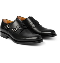 O'keeffe Bristol Leather Monk Strap Shoes