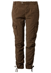 S.Oliver Cargo Trousers Brown