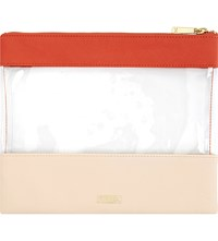 Kikki.K Textured Leather And Pvc Pouch