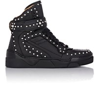 Givenchy Men's Studded Tyson Ankle Strap Sneakers Black Size 7 M