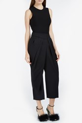Monse Draped And Pleated Trousers Black