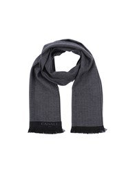 Canali Accessories Oblong Scarves Women Steel Grey