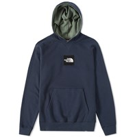 The North Face Logo Pullover Hoody Blue