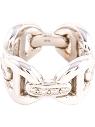 Hoorsenbuhs Quad Link Ring Metallic