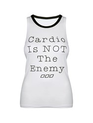 Lorna Jane Cardio Crunch Tank White