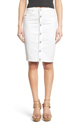 Blank Nyc Women's Blanknyc Button Front Pencil Skirt