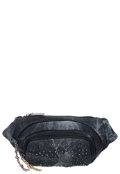 S.Oliver Bum Bag Grey Black Black Denim