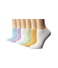 Hue Massaging Liner Capri Pack Women's No Show Socks Shoes Multi