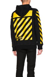 Moncler X Off White Maglia Hoodie In Black