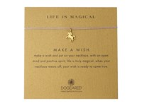 Dogeared Life Is Magical Unicorn Make A Wish Necklace Gold Dipped Lavender Necklace