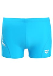 Arena Byor Swimming Shorts Turquoise White Light Blue