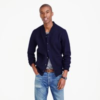 J.Crew Wallace And Barnes Boiled Wool Bomber Jacket
