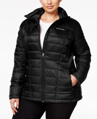 Columbia Plus Size Pacific Post Thermal Coil Jacket Black
