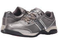 Therafit Euro Oxford Low Pewter Women's Lace Up Casual Shoes