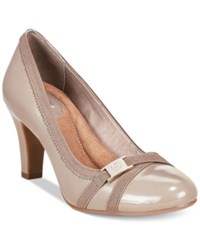 Giani Bernini Vollett Pumps Only At Macy's Women's Shoes Dark Taupe