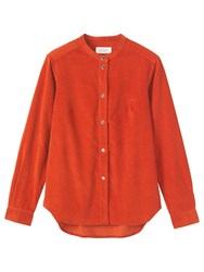 Toast Needlecord Shirt Auburn