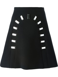 David Koma A Line Buckle Skirt
