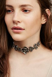 Free People Womens Floral Affair Choker