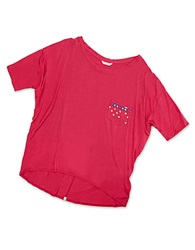 Pretty Polly I Will Slouch If I Want Too Tee Paradise Pink