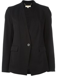 Michael Michael Kors Single Button Blazer Black