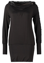 Ragwear Iconic Jersey Dress Anthracite Dark Gray