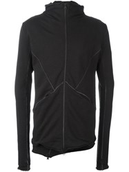Thom Krom Double Layer Zip Top Black