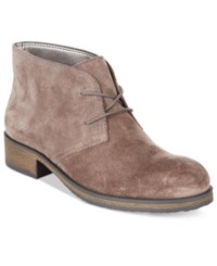 Bandolino Talon Suede Booties Grey