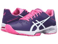 Asics Gel Solution Speed 3 Parachute Purple White Hot Pink Women's Tennis Shoes