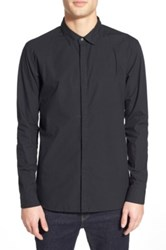 Tavik 'Silas' Trim Fit Sport Shirt Black